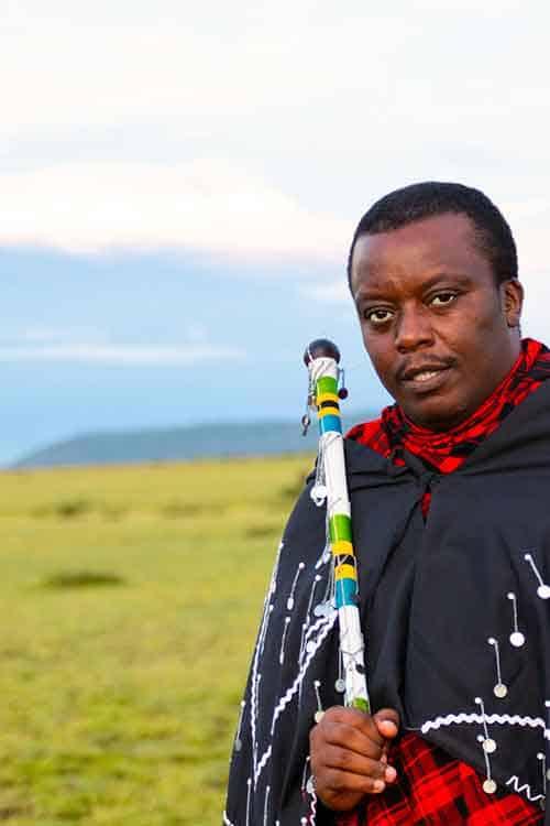 Joshua Ole Monaha of JAfrica Safaris in Tanzania