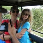 Honeymoon couple on safari wedding trips to Tanzania